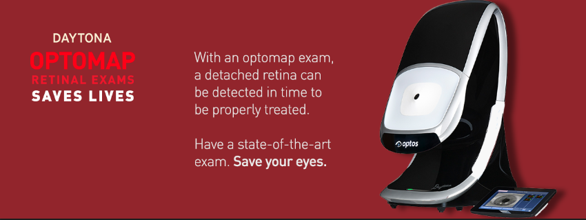 Daytona OPTOMAP Retinal Exam Saves Lives! Have a state-of-the-art exam. Save your eyes.